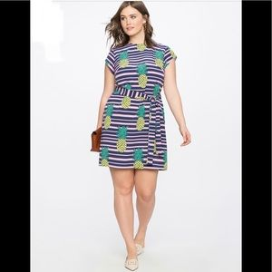 Eloquii Pineapple Dress